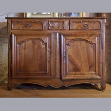 Country French Buffet - Antique