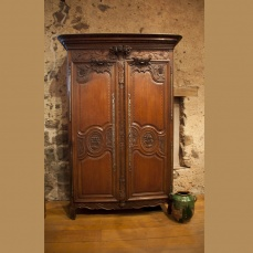 Normandy Wedding Armoire- antique